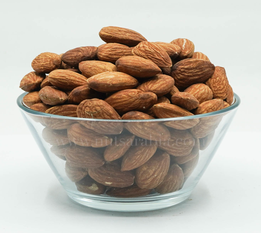 Picture of Almond Roasted Plain (Un-Salted), 500gm