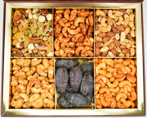 Picture of NutsArabia Gift Box Large with Healthy Mix, Dates, & Premium Roasted Nuts
