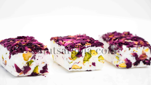 Picture of Nougat Flower Cubes, 200gm