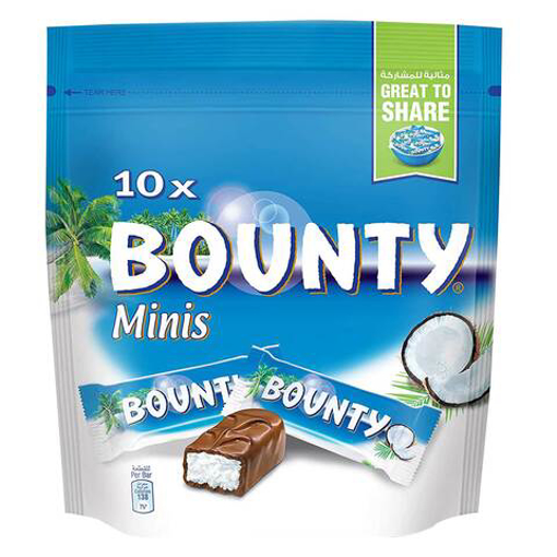 Picture of Bounty Minis Chocolates 285g