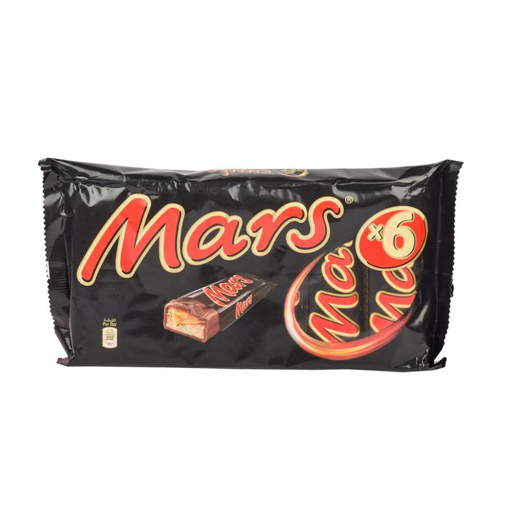 Picture of Mars 6 pack Chocolates 6x50g