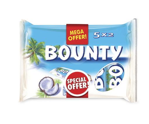 Picture of Bounty Chocolates 5 x 57g