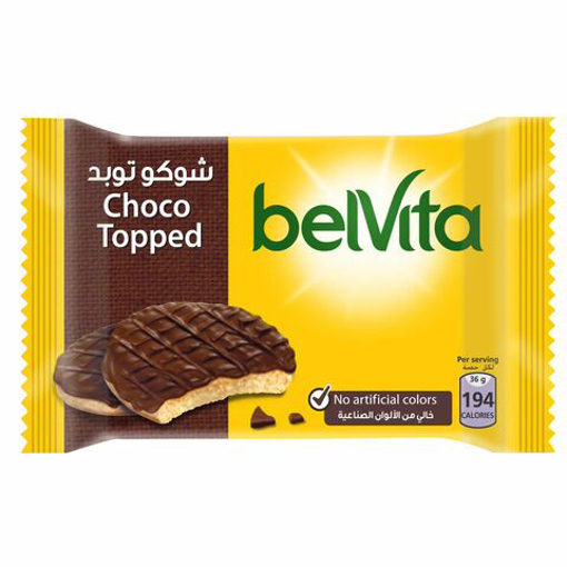 Picture of Belvita Biscuit Half Coated with Milk Chocolate 36g