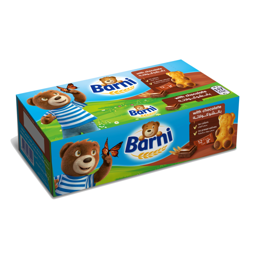 Picture of Barni Cake With Chocolate 30g x 12
