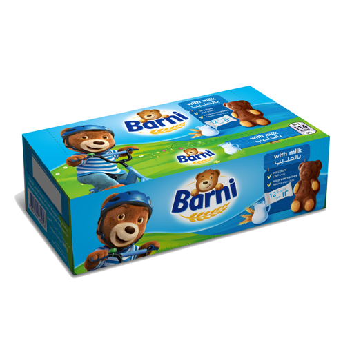 Picture of Barni Cake With Milk Filling 30g x 12