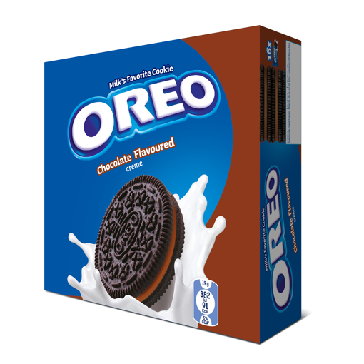 Picture of Oreo Chocolate Flavored Cream Cookies 16x38g