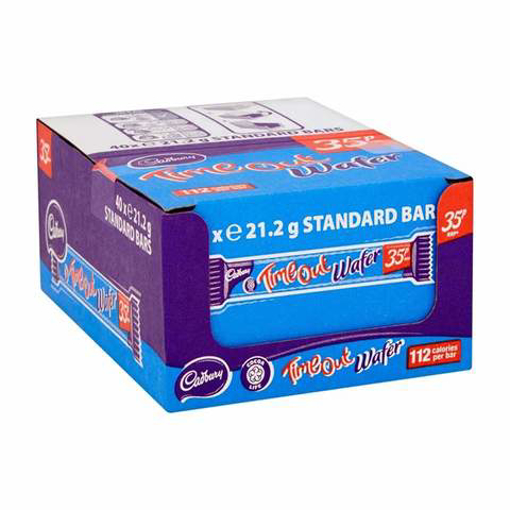 Picture of Cadbury Time Out Wafer 40x 21.2g