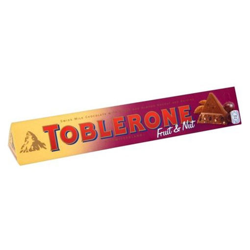 Picture of Toblerone Fruits & Nuts Chocolate 100g