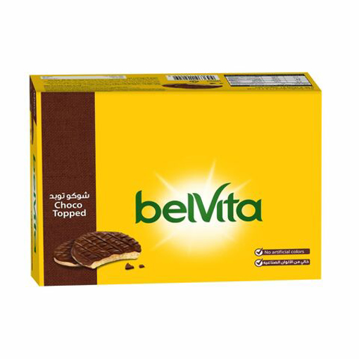 Picture of Belvita Biscuit Half Coated with Milk Chocolate 12x36g