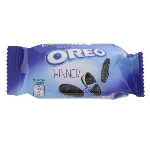 Picture of Oreo Thinner Crispy Cookies 48g