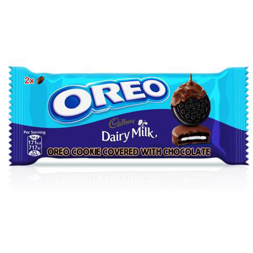 Picture of Oreo Cookies Chocolate Coated 34g