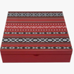 Picture of Arabic Majlis Wooden Gift Box With Nuts & Dates